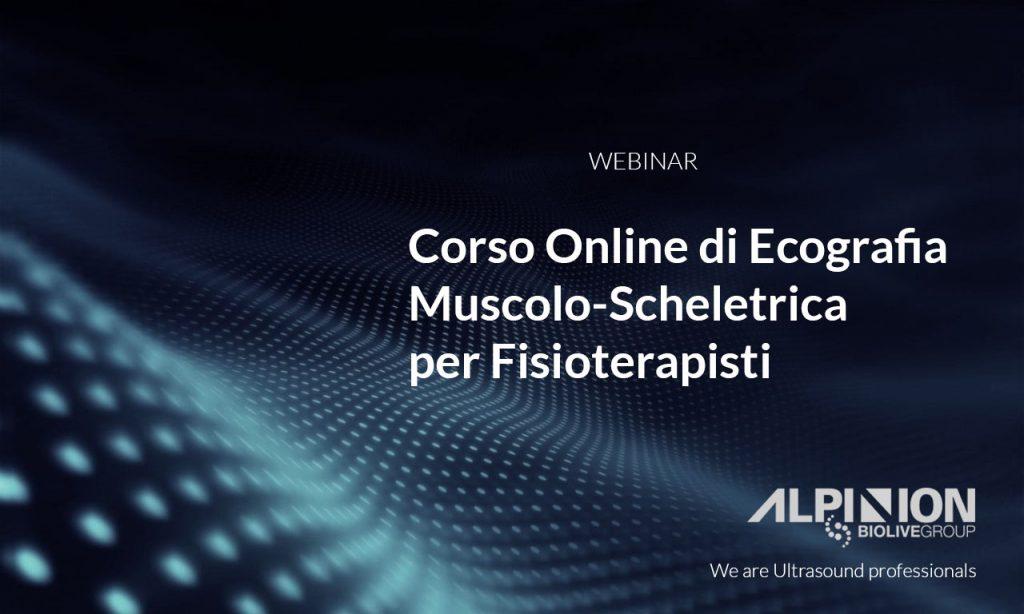 Corso online di ecografia muscolo-scheletrica