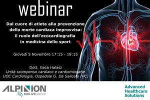 Alpinion Italia | Webinar Prevenzione morte cardiaca improvvisa