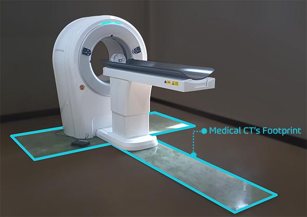 Helical Scanner | Myvet CT i3D | Compattezza del design