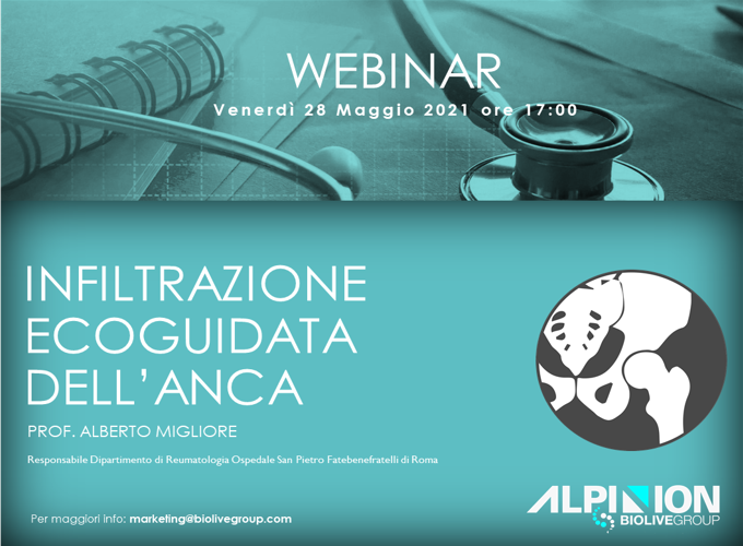 Biolive Alpinion webinar infiltrazione ecoguidata
